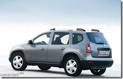 Dacia SUV grey