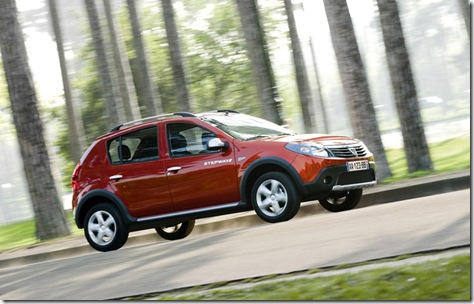 Dacia stepway red