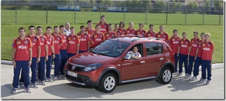 sandero romania national team