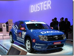 Duster Andros Paris Motor Sow