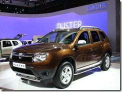 Duster Paris Motor Show