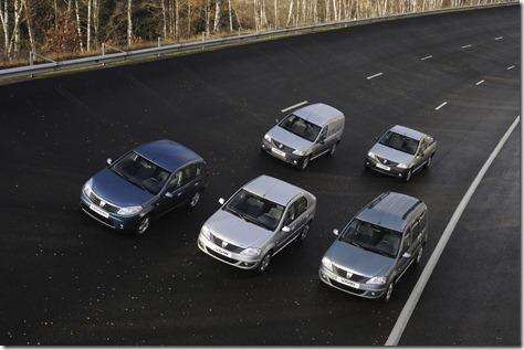 Dacia 2012 model