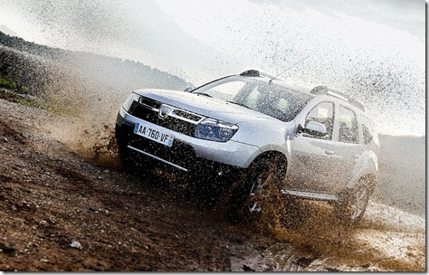 Dacia Duster sales