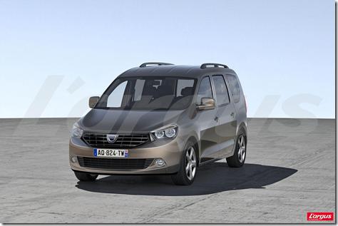 Dacia minivan