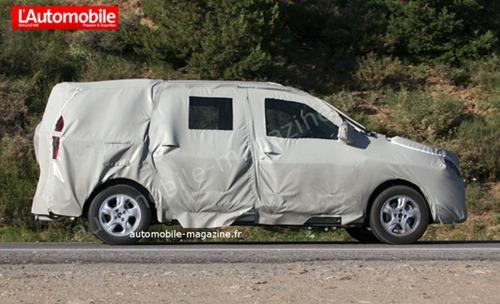 Dacia Popster MPV