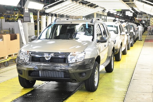 Dacia-iggest-company-in-Romania