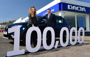 Dacia 100000 UK anniversary model
