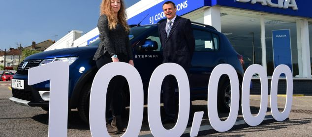 Dacia 100000 UK anniversary model
